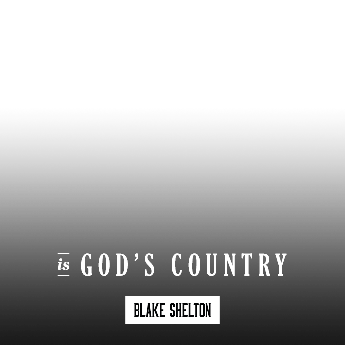 Blake Shelton | God's Country Photo Generator